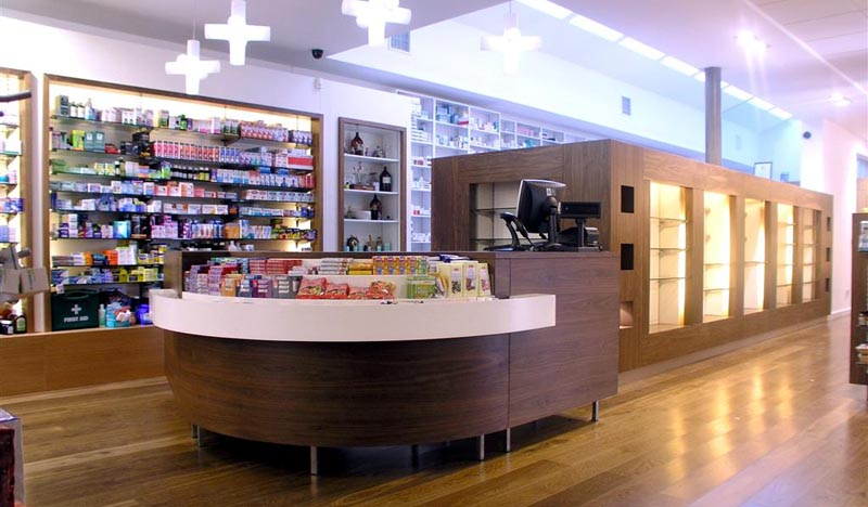 Pharmacy Store Design